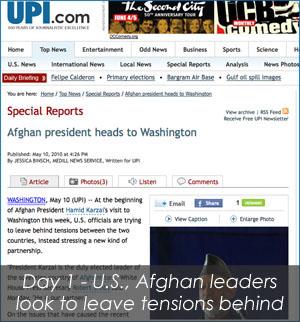 Karzai Day 1