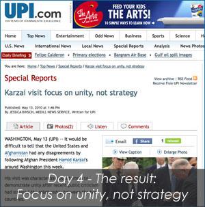 Karzai Day 4