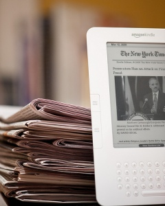 Newspaper and the Kindle