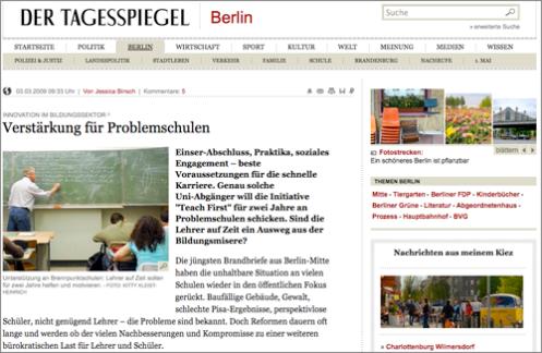 Schulen Tagesspiegel Online
